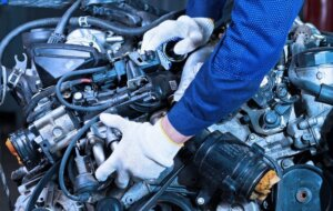 Замена двигателя автомобилия